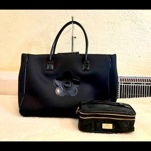 BNWOT Mary Quant tote and small purse
